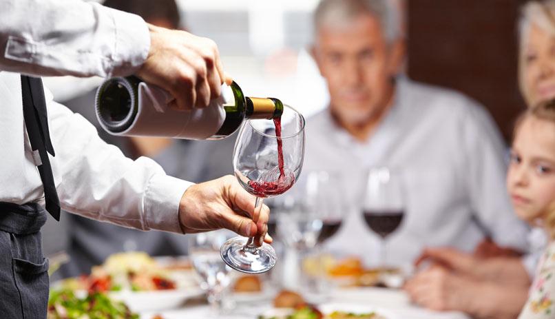 disfrutar del vino